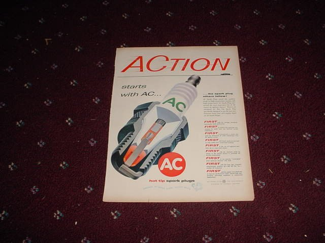 AC Spark Plug ad #2