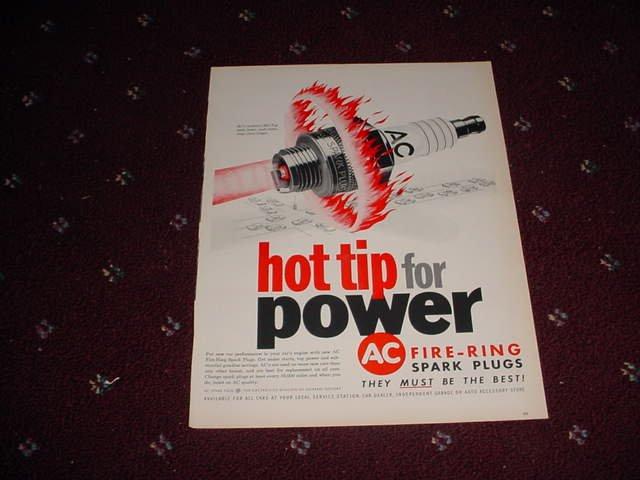AC Spark Plug ad #6