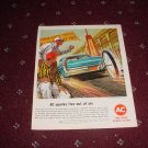 1963 AC Spark Plug ad #1
