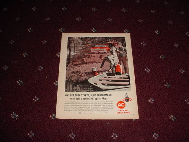 1965 AC Spark Plug ad