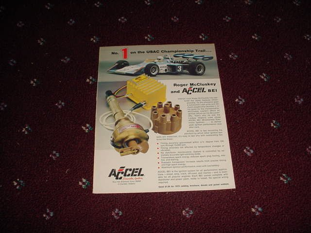 Accel Ignition Parts ad