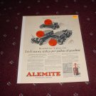 1926 Alemite Lubricant ad