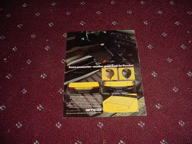 1971 Amco Accessories ad