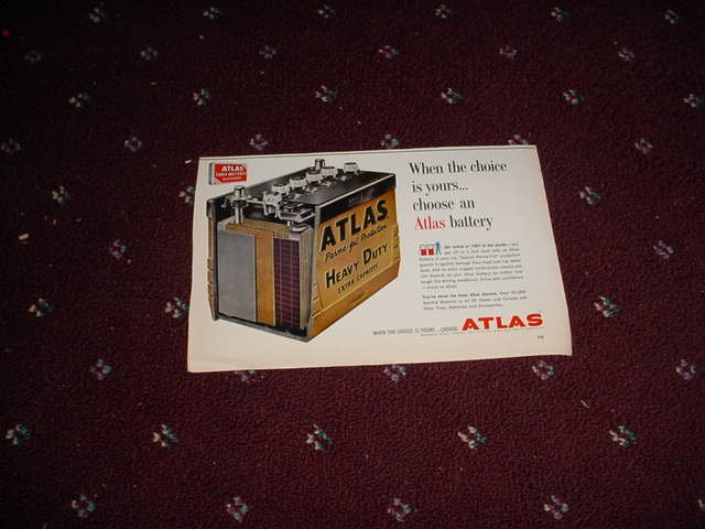 1962 Atlas Battery ad #2