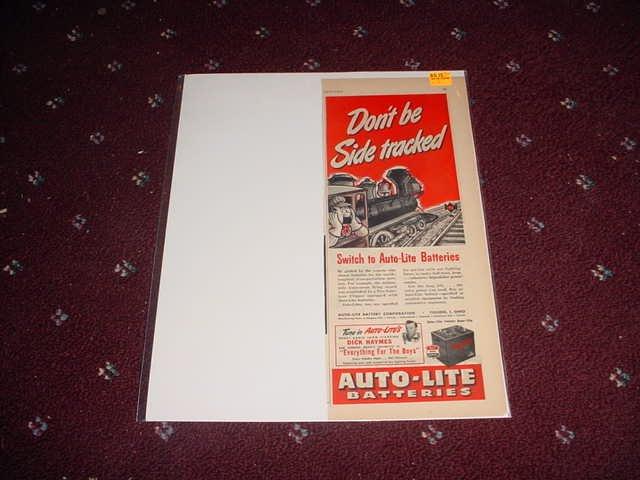 1944 Auto-Lite Battery ad #1