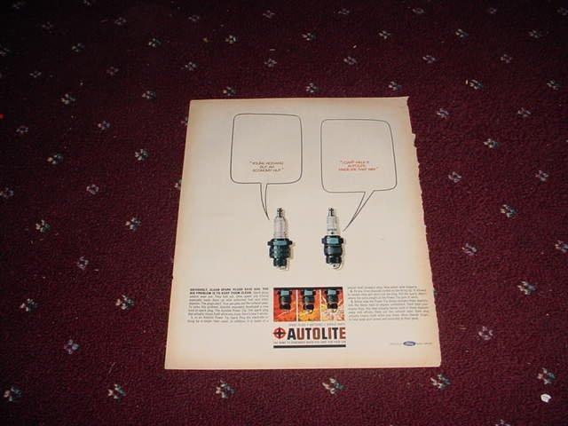 Auto-Lite Spark Plug ad #6