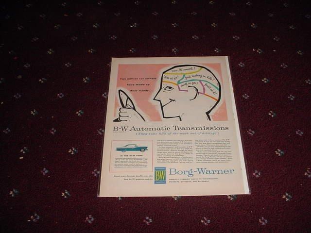 1955 Borg-Warner ad