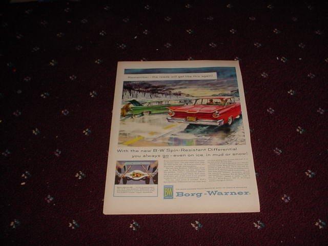 1959 Borg-Warner ad