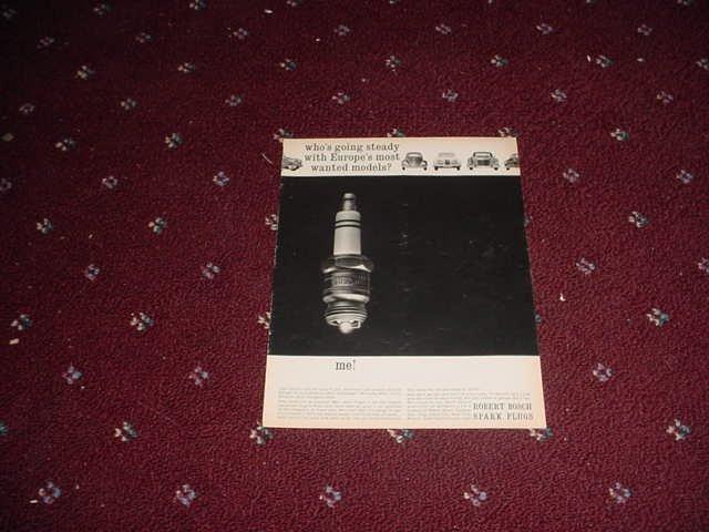 1965 Bosch Spark Plug ad #1
