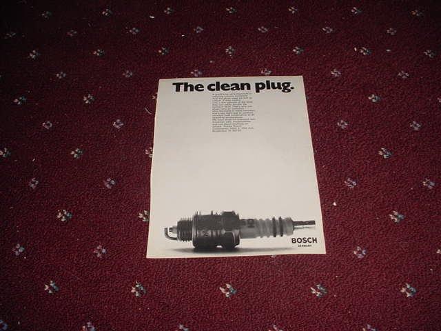 1971 Bosch Spark Plug ad #2