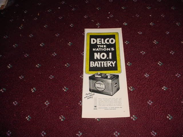 Delco Battery ad #2