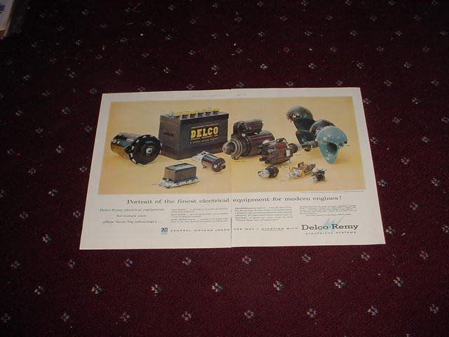 1956 Delco Remy Parts ad