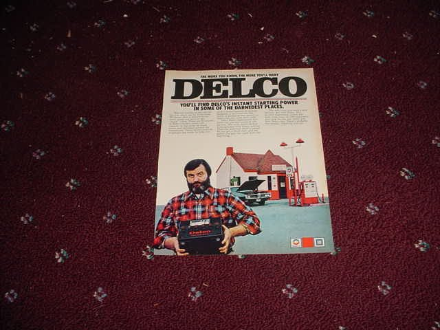 Delco Battery ad #11
