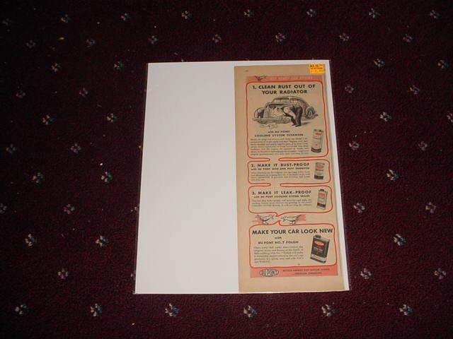 1946 Dupont N0 7 Polish ad