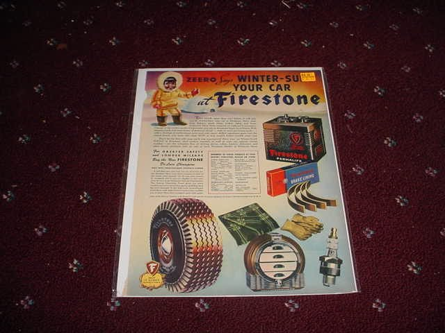 Firestone Parts ad