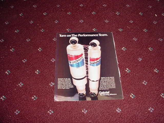 1973 Gabriel Shock Absorbers ad