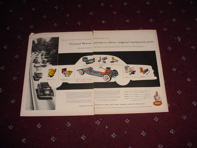 GM Parts ad