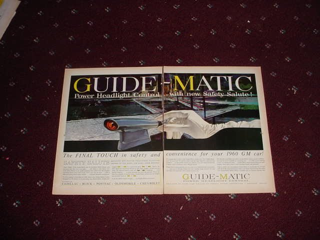 1960 Guidematic Headlight Dimmer ad #2