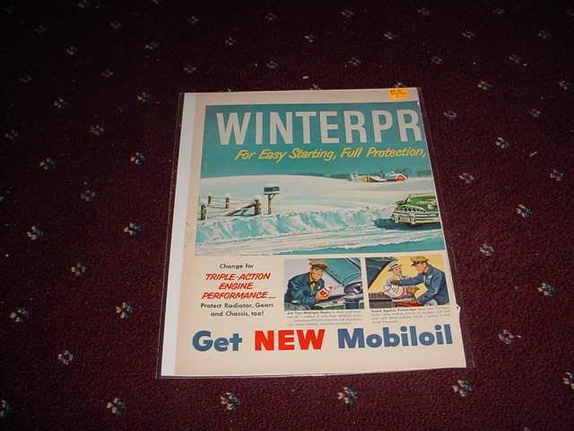 Mobil Winter Tuneup ad