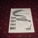 1958 Monroe Load Leveler Shock Absorber ad