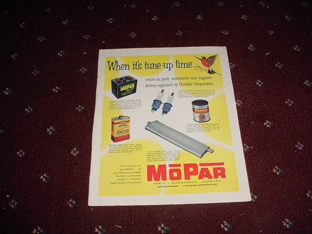 Mopar Parts ad