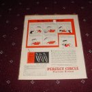 1929 Perfect Circle Piston Rings ad #2