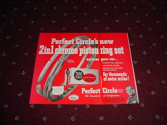 1952 Perfect Circle Piston Rings ad #3