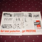 Prestone Anti-Freeze ad