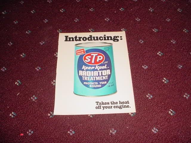 STP Radiator Treatment ad