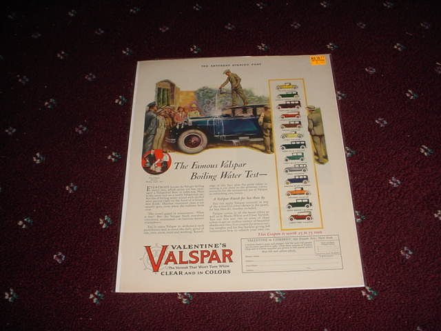 1927 Valspar Finish ad