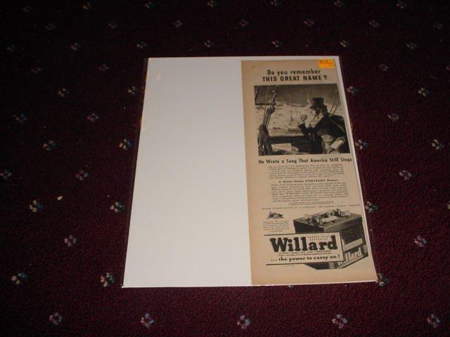 1944 Willard Battery ad #2