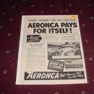 1946 Aeronca Aircraft ad #2