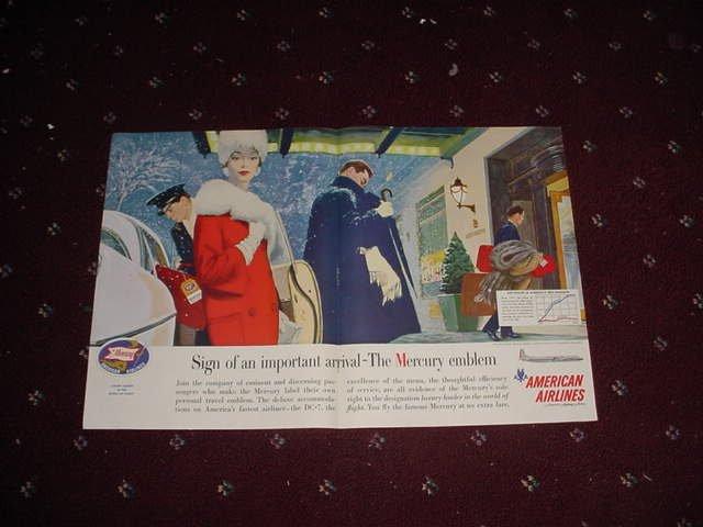 American Airlines Mercury ad