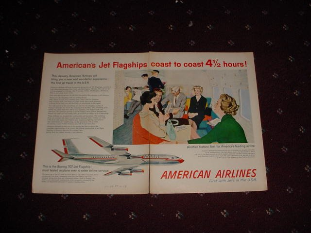 1959 American Airlines ad