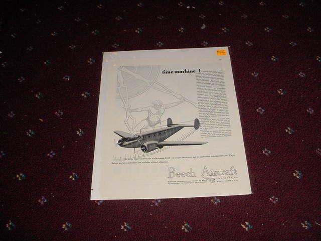 1946 Beech Aircraft ad #1