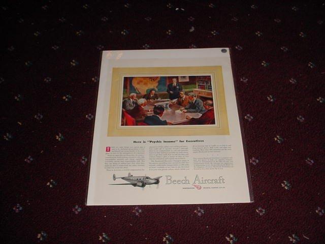 Beech Aircraft ad #1