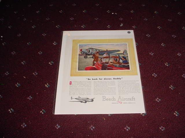 Beech Aircraft ad #4