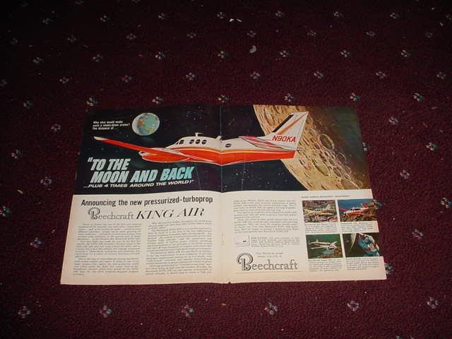 1965 Beechcraft King Air Aircraft ad