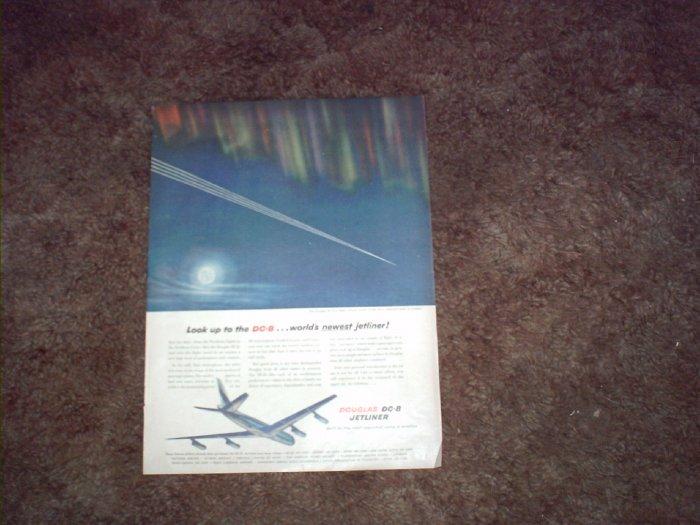 Douglas DC-8 Aircraft ad #1