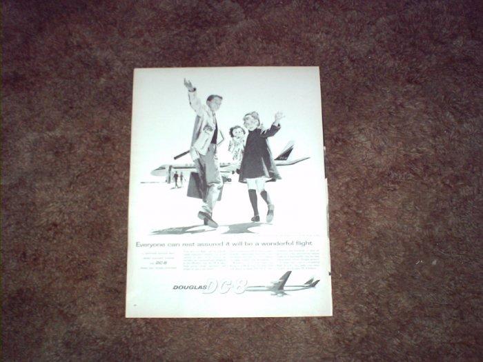 Douglas DC-8 Aircraft ad #3