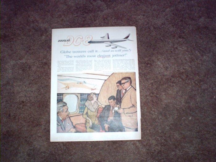 Douglas DC-8 Aircraft ad #6