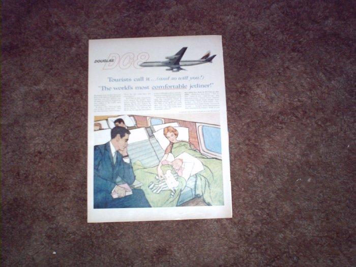 Douglas DC-8 Aircraft ad #9