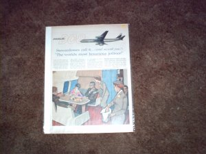 Douglas DC-8 Aircraft ad #10