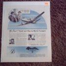 Martin Cargo Aircraft ad
