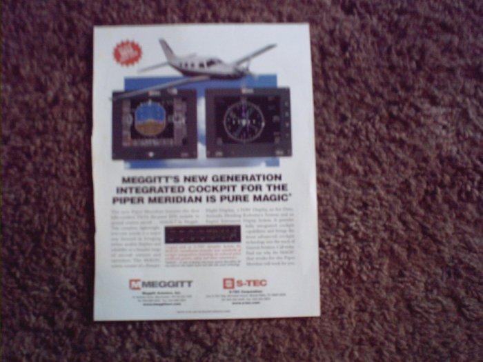 2001 Meggit Aviation ad