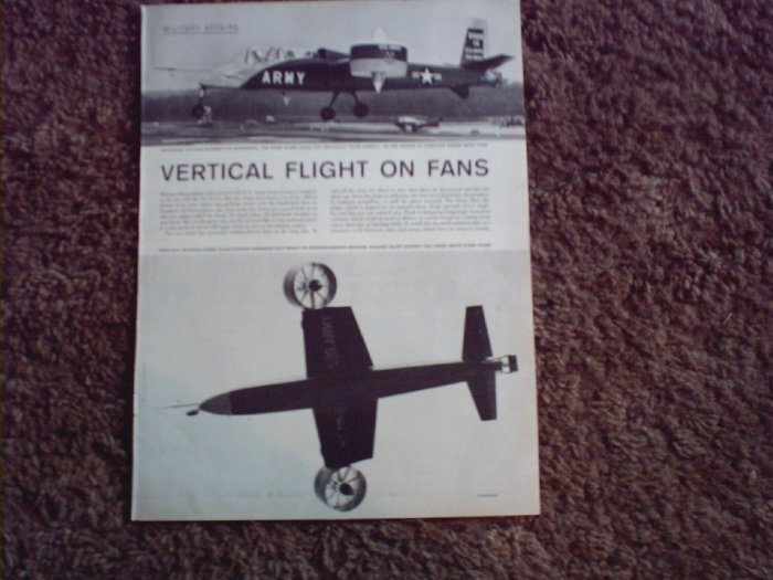 Doak 16 Vertical Takeoff Aircraft Picture