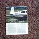 2001 Mooney Eagle 2 Flight report
