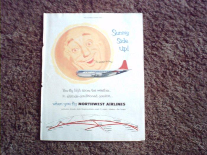 Northwest Airlines ad