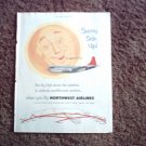 Northwest Airlines ad