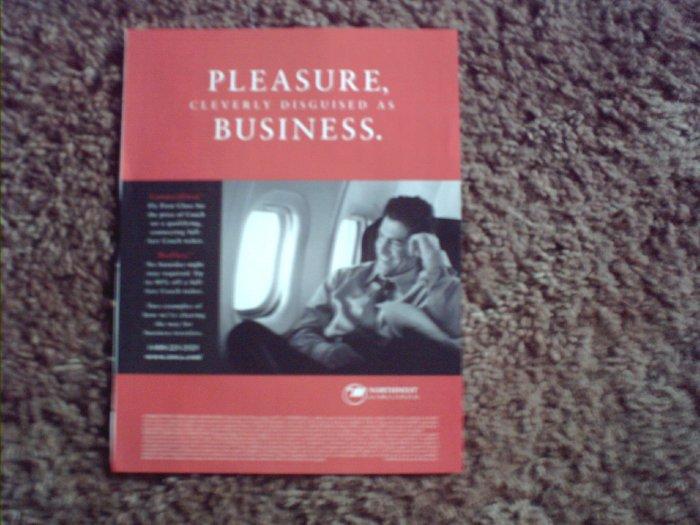 2000 Northwest Airlines ad